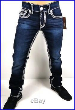 True Religion $349 Men's Hand Picked Straight Super QT Jeans 101754