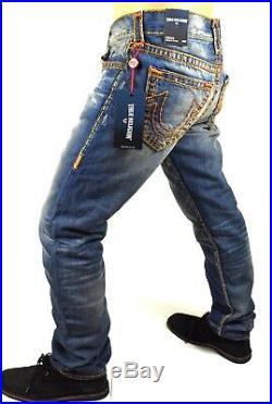 True Religion #349 Men's Rocco Skinny Super T Brand Jeans MJ60NYJ8