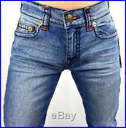 True Religion $369 Geno Relaxed Slim Multi Super T Jeans 100589