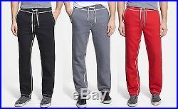 True Religion Brand Jean Men's Contrast Big T Stitch Pants Trousers Sweatpants