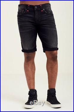 True Religion Brand Jean Straight Ricky Super T Mens Jean Shorts $299 MDCC08725T