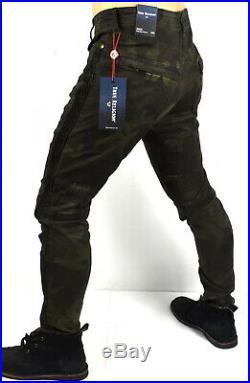True Religion Brand Jeans Men's Camo Racer Relaxed Skinny Jeans MDBAG824Q