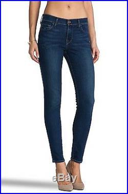 True Religion Brand Jeans Women Abbey Super Skinny Legging Tinted Dream Blue New