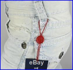 True Religion Hand Picked Summer Shore Straight Super T Jeans MNRS859EMV