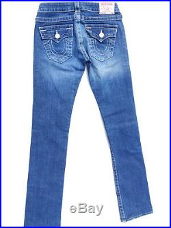 True Religion Jeans Destroy'BILLY' EUC LOOK NEW RRP $449 Womens Size W25 L33