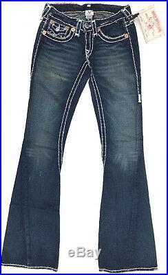 True Religion Jeans JOEY SUPER T Dusty Road Jeans Size 24 AU6 NEW RRP$499 Womens