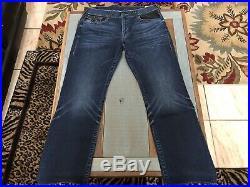 True Religion Jeans Lot (3 Pairs) Men's size 38 Straight Slim Flap Natural Moto