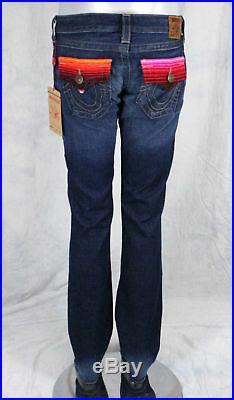 True Religion Jeans Women's Billy baja serape pattern pocket gridiron WQ2R95T02