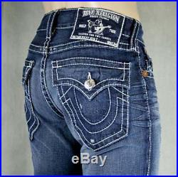 True Religion Jeans men's RICKY Big T Gunslinger wash 24859NBTDL