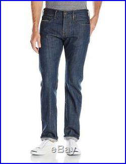 True Religion Kurt Slim Fit Men's Raw Selvedge Denim Jeans MADE IN USA NEW 33x32