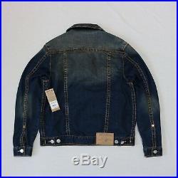 True Religion Men Big T Trucker jeans jacket size L, XL, XXL new with tags