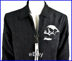 True Religion Men's $269 Elongated Sporty Trainer Jacket MSQBR6CH2