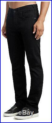 True Religion Men's Geno Slim Fit Stretch Jeans in Body Rinse Black