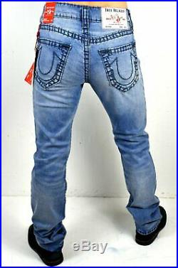 True Religion Men's Ricky Relaxed Straight Super T Jeans 102467
