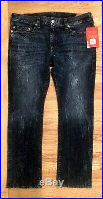 True Religion Men's Ricky Straight Fit Stretch Jeans Size 42 NWT