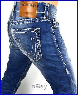True Religion Men's Rocco Stretchy Skinny Super T Brand Jeans MJ60NZN5
