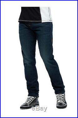 True Religion Men's Rocco Super T Skinny Fit Stretch Jeans in Fresh in Dark Ego