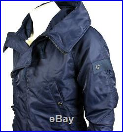 True Religion Men's Sherpa Faux Fur Lined Parka Jacket/Coat M17FP46C5G