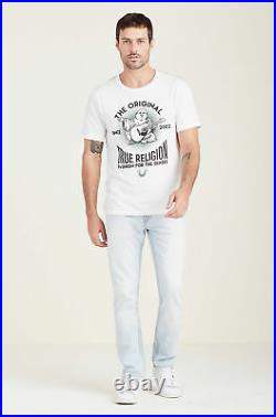 True Religion Men's Skinny Jeans with Flap Pockets in Sandy Wood