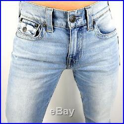 True Religion Men's Stretch Ricky Relaxed Straight Light Energy Jeans 101741