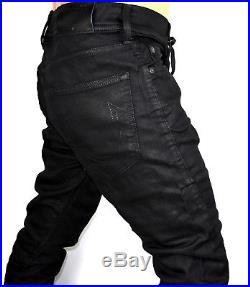 True Religion Men's Twisted Dean Night Drifter Slim Tapered Jeans MC528TY4