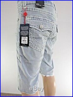 True Religion Mens Super T Corduroy Shorts Tropics Mdbc08729f 29 30 31 32 33