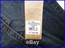True Religion Mens Trucker Porkchop Denim Jacket Size 3XL NWT Indigo Sand 100689