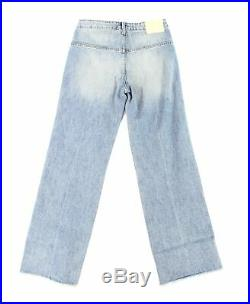 True Religion NEW Blue Womens Size 25 Frayed Hem Wide Leg Denim Jeans $229 660