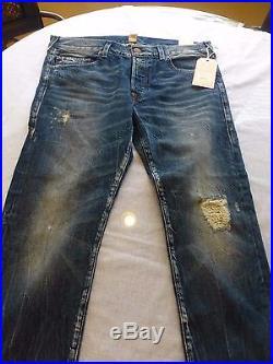 True Religion Nwt 1/4 Rocco No Flap Se Jeans Size 36