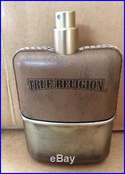 True Religion Original Eau De Toilette Spray For Men 3.4 oz 100ml NEW TT