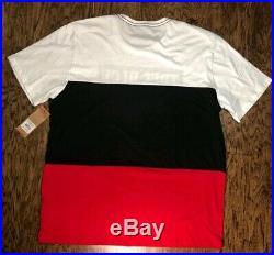 True Religion S/S Panel Crew Neck 3 Color Tone Men's Graphic T-Shirt NWT Sz 3XL