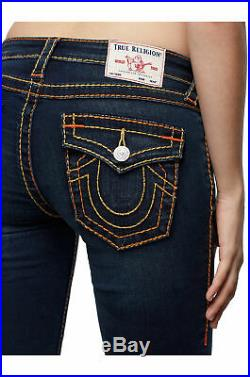 True Religion Women's Stella Big T Skinny Fit Stretch Jeans in Indigo Upgrade