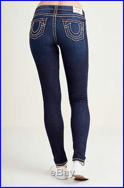True Religion Women's Super T Skinny Stretch Jeans (Size 33, 34)