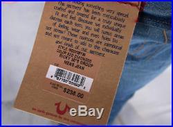 True Religion brand men's jeans 50's group deadwood wash MQ2V38Y39