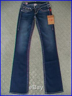 True Religion'disco Becky Big T' Stretch Jeans Wmn Bnwt Size 6