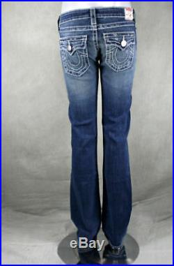 True Religion jeans women's BILLY Big T Classic Short fuse style #10572NBT