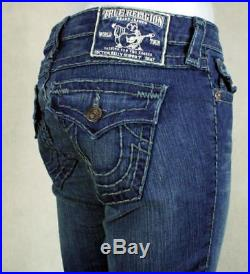 True Religion jeans women's Billy Super T DEL MAR MED Tonal stitch WQ1572H94
